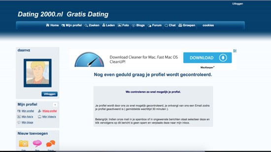 from Johan dating 2000 profiel geblokkeerd