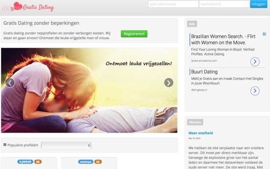 is er een dating site voor gratis